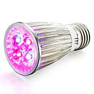 4W E14 GU10 E27 LED Büyüyen Işıklar 4 Yüksek Güçlü LED 360-400 lm Kırmızı Mavi V 1 parça