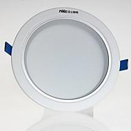 1pcs 6w led 통 celing 빛 따뜻한 노란색 / 따뜻한 흰색 / 흰색 ac220v 크기 구멍 90mm 360lm