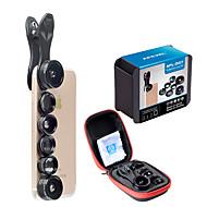 spiderholster dg7 mobiltelefon objektív szűrővel 2x hosszú fókuszos lencse 198 halszemű lencsék 0.36x 0.63x széles látószögű lencsék 15x