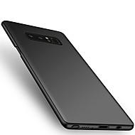 voor case cover ultra dunne achterkant hoesje vaste kleur harde pc voor Samsung Galaxy Note 8