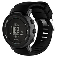 for suunto 코어 알루 블랙 멀티 스포츠 GPS 시계 교체 실리콘 손목 밴드 스트랩 도구