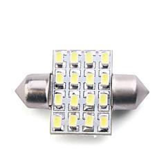 Carriage T10-31mm-1210-116L LED White Light Bulb