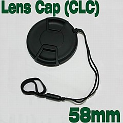 Emora 58mm Center Release lens Cap with Keeper