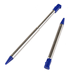 Pair of Metal Touch Pen Stylus for 3DS (Blue)