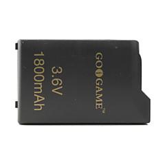 3.6v bateria 1800mAh para PSP (preto)