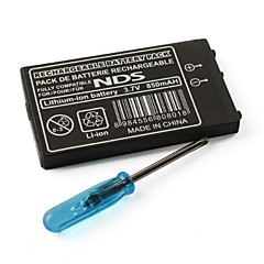 3.7V 850mAh Rechargeable Li-ion Battery for Nintendo DS NDS with Screwdriver