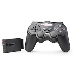 nj206 2,4 GHz RF gioco wireless joypad per PS2 (nero)