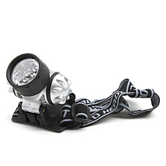 LED Flashlights / Headlamps LED 1 Mode 50 Lumens Tactical Others 10440 / AAA Others , Silver Aluminum alloy