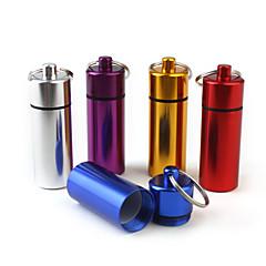 Travel Reispillendoos/houder Reisaccessoires voor noodgevallen Metaal Roze