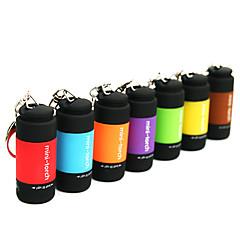 Uppladdningsbar LED-ficklampa i miniformat med USB (blandade färger)