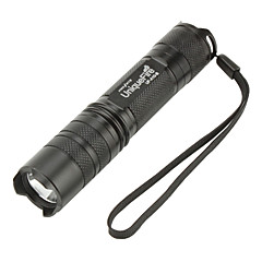 UniqueFire 3-Mode Cree XM-L T6 LED Flashlight (1000LM, 1x18650, Black)