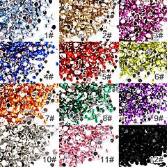 50kpl kynsitaide akrylli 2mm strassi koristeita