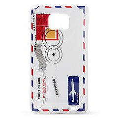 Protective Polycarbonate Case for Samsung i9100 (Passenger Ticket)