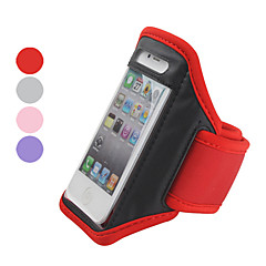 Protective Case with Arm Strap for iPhone 4 and 4S (Assorted Colors)