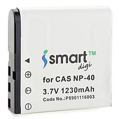 batterie iSmart appareil photo numérique pour Casio EX-Z Series, Exilim EX-Z série, EXILIM Pro EX-P Series