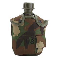 amerikansk stil ACU camouflage hær brug vandflaske kedel med 1l kantine