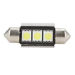 36mm 5050 SMD LED 5500K White Light Bulb for Car