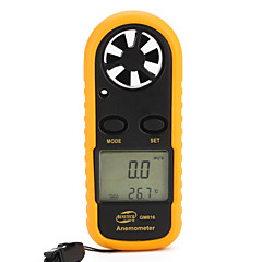 GM816 anemometer windmeter met thermometer