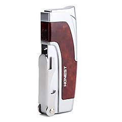 Modern Style Multifunctional Gas Lighter (Brown)