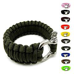 Survival Bracelet Survival Hiking Assorted Colors