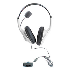 Premium Microphone Headset for Xbox 360 (White)