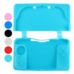 Nintendo 3ds (çeşitli renklerde) için prim silikon çanta