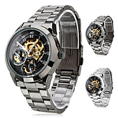 SHENHUA® Men's Premium Alloy Style Analog Mechanical Wrist Watch (Assorted Colors) Cool Watch Unique Watch