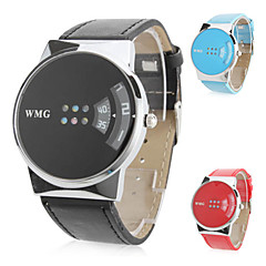 Women's Creative Turntable Style PU Band Quartz Wrist Watch (Assorted Colors)