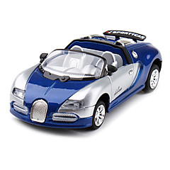 1:43 Model 666 Roadster Racing Car (Blue)