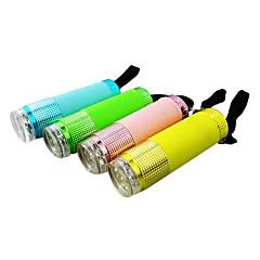 Mini 1-Mode LED Flashlight (1xAA, Random Color)