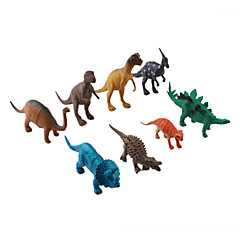 Hard Plastic Dinosaur Figures Set