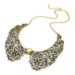 Necklace Collar Necklaces / Vintage Necklaces Jewelry Daily Fashion Alloy Bronze 1pc Gift
