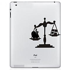 Skalenmusters Schutzaufkleber für das neue iPad und iPad 2