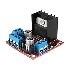 L298N dubbele h brug dc stappenmotor rijden controller board module voor (voor Arduino)