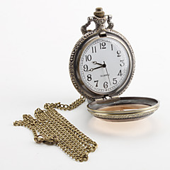 Men's Alloy Analog Quartz Pocket Watch (Bronze) Cool Watch Unique Watch Fashion Watch