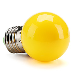 E26/E27 0.5W High Power LED 50 LM Yellow G45 LED Globe Bulbs V