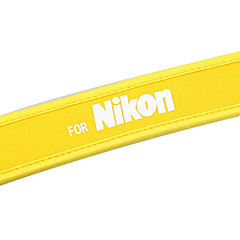NEW yellow camera Neoprene Neck Strap for Nikon D40X D60 D70s D80 D200 B103