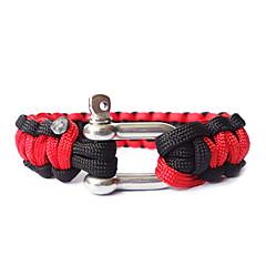 stalen knoop dubbele kleur levensreddende armband