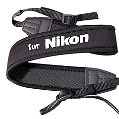 Neopren Camera Neck Strap For Nikon D5000 D5100 og mer