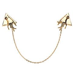 Z&X®  Hand Shape Vintage Collar Chain Necklace
