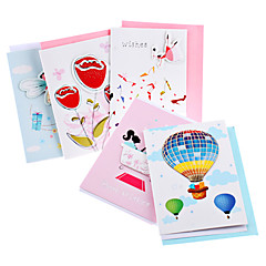 20-Pack Christmas Greeting Card with Envelope (Random Style, 5-inch)