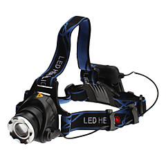 Cree XM-L T6 LED-hodelykt med 3 modus (10w, 700LM, 4xAA)