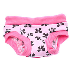 Perros Pantalones Rosado Ropa para Perro Primavera/Otoño Lazo
