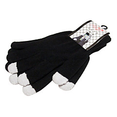 Men's Woolen Magic Touch Screen Gloves for iPhone, iPad and All Touchscreen Devices