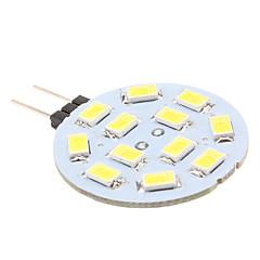 2W G4 LED-lamper med G-sokkel 12 SMD 5630 170 lm Naturlig hvid Jævnstrøm 12 V
