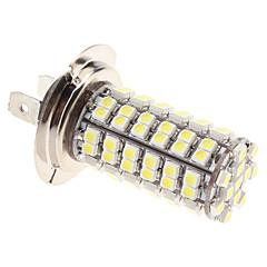 H7 5w 96x3528 SMD 280lm luonnon valkoinen valo johtanut lamppu auton sumuvalo (12v)