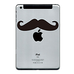 Mustache Design Protector Sticker for iPad Mini
