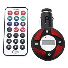 Abgerundete Stil Auto MP3-Player mit FM-Transmitter (Farbe sortiert)