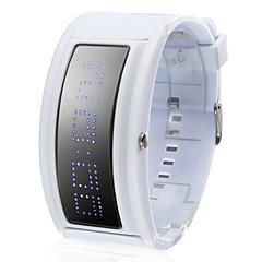 nya anländer 108 blå LED vit klocka band handleden med 10 välkomstbrev importeras