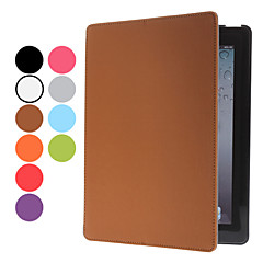 PU Leather Case with Stand & Sound Enhancemet for iPad 2/3/4 (Assorted Colors)